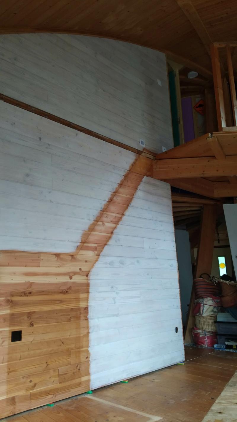 Métal et bois : escalier et meuble ! Img_2011