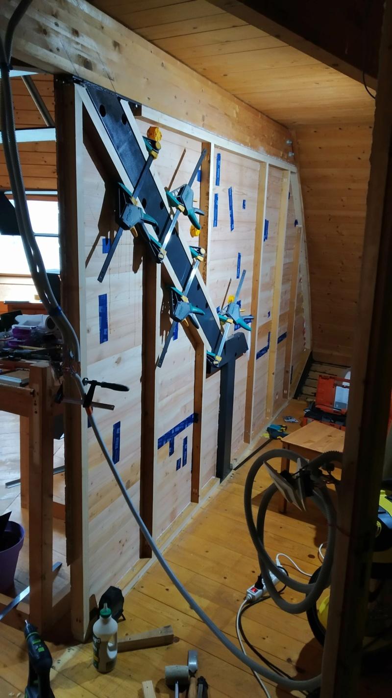 Métal et bois : escalier et meuble ! Img_2027