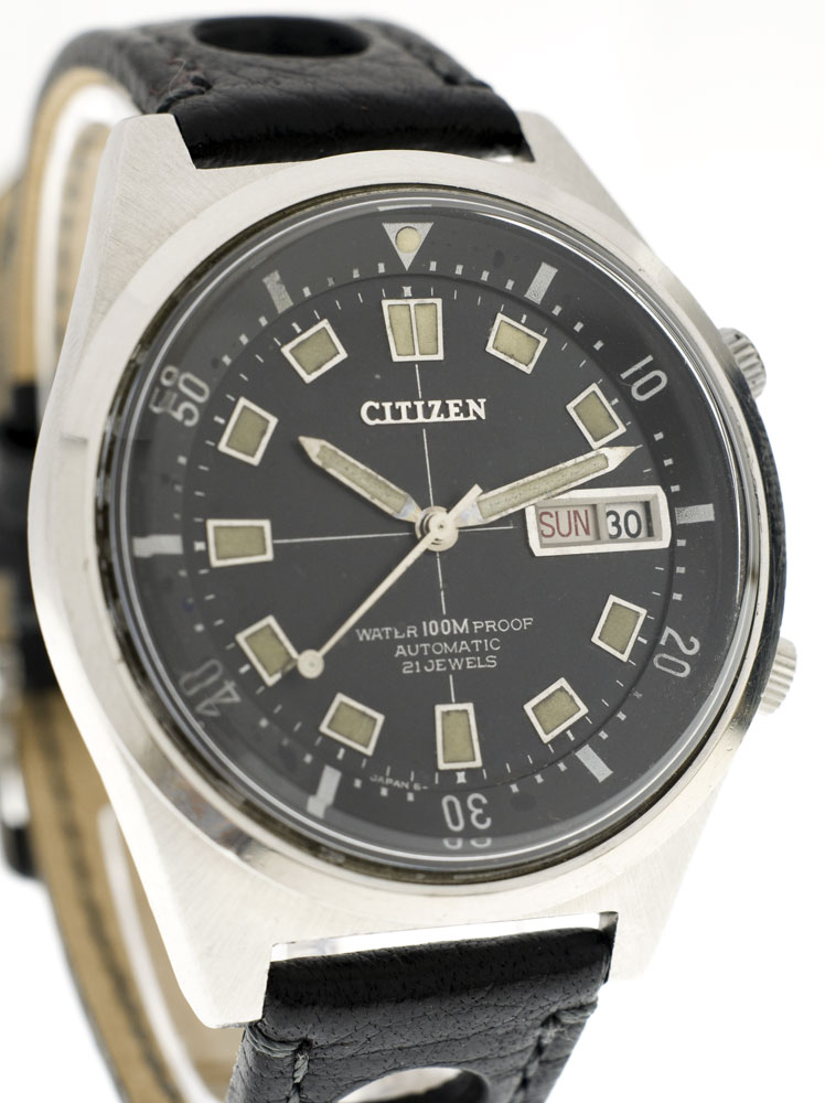 citizen - Citizen 4-520343 Y à lunette interne façon super compressor, 1969 Citize10