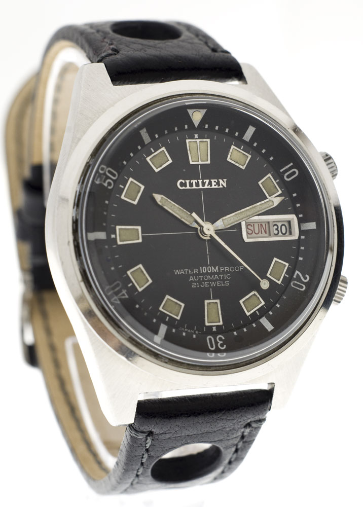 citizen - Citizen 4-520343 Y à lunette interne façon super compressor, 1969 Citize11