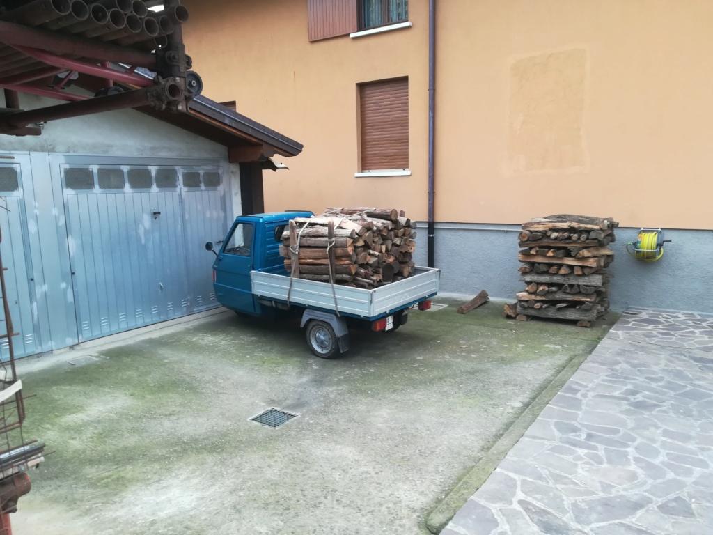 Trasporto legna con Ape piaggio Img_2066
