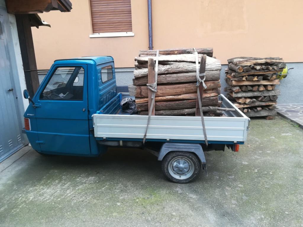 Trasporto legna con Ape piaggio Img_2067