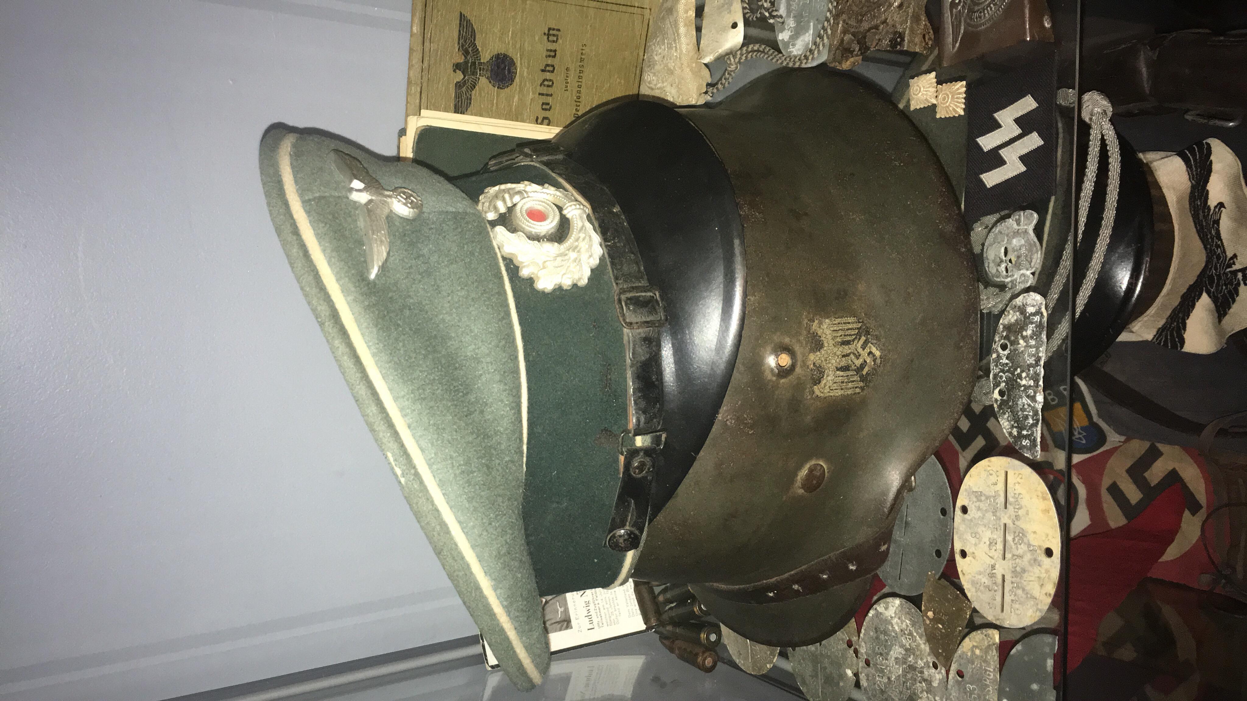 Pour les amateurs de casques et schirmmütze  36444b10