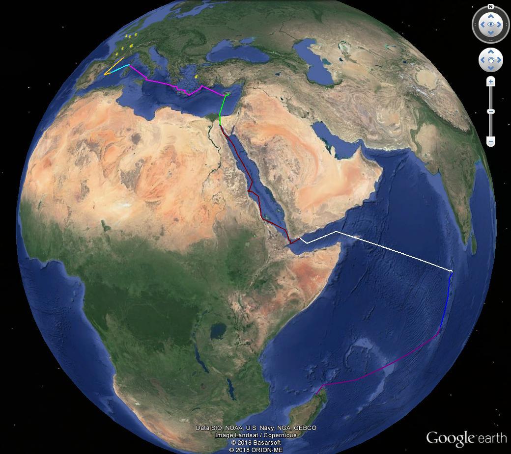 [résolu]Tracer un itinéraire, le sauver en KMZ [problème technique Google Earth] Itiner10