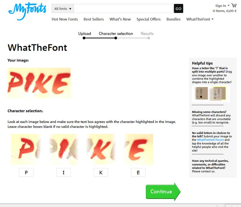 Font typographique Font310