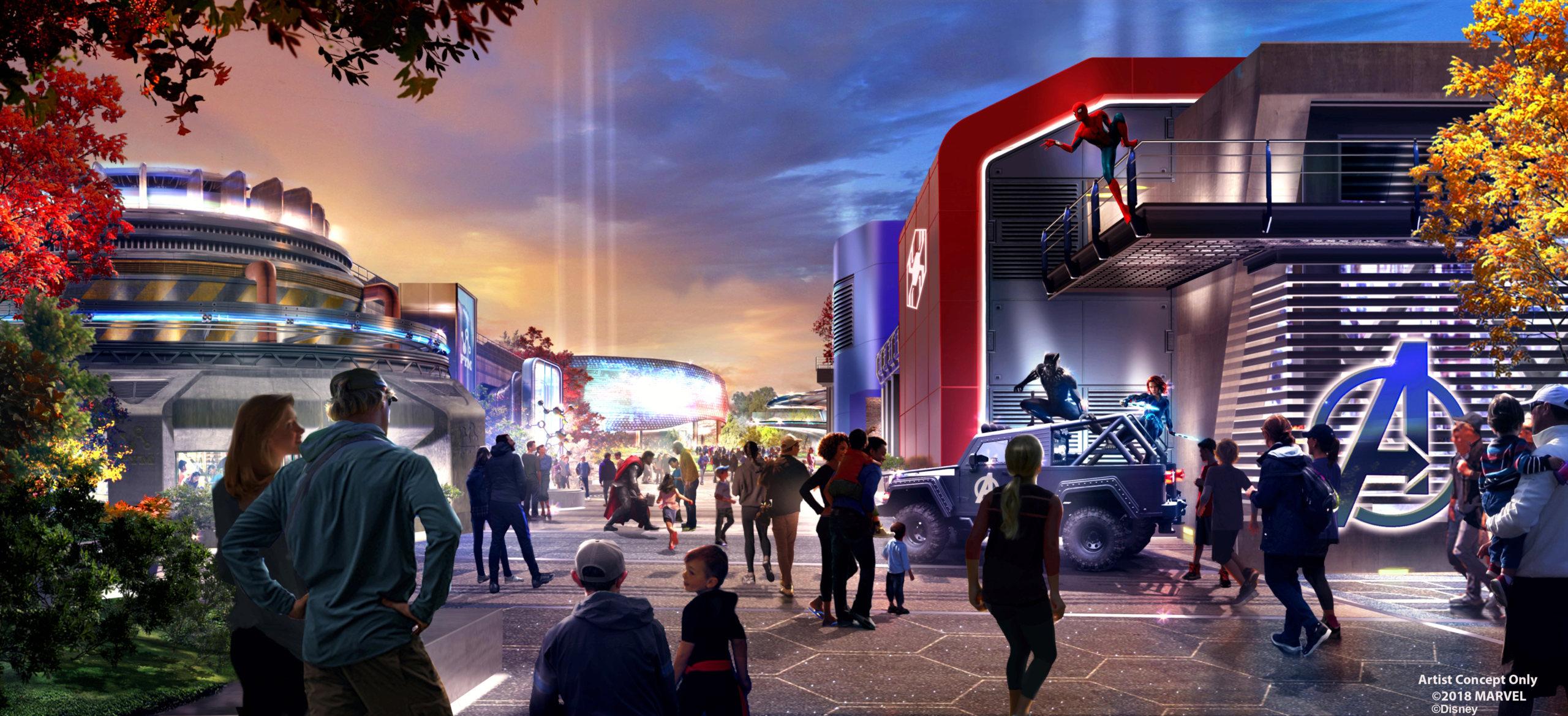 [Parc Walt Disney Studios] Nouvelle zone Marvel (2020 ou 2021) - Page 14 Marvel11