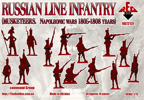 Infanterie et grenadiers russes 1805 A1ee6a10