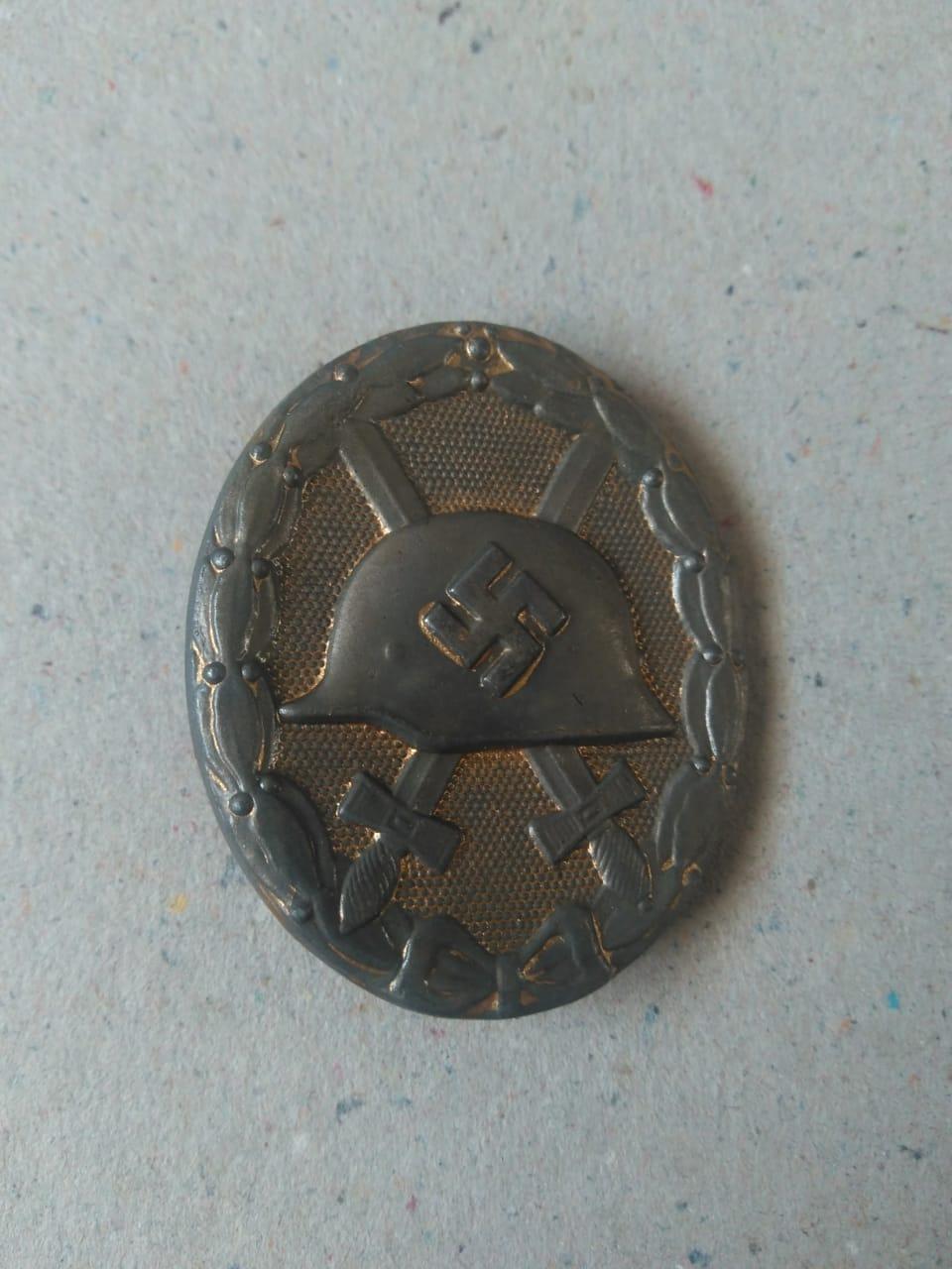 Insigne des blessés allemand 39-45 Badge112