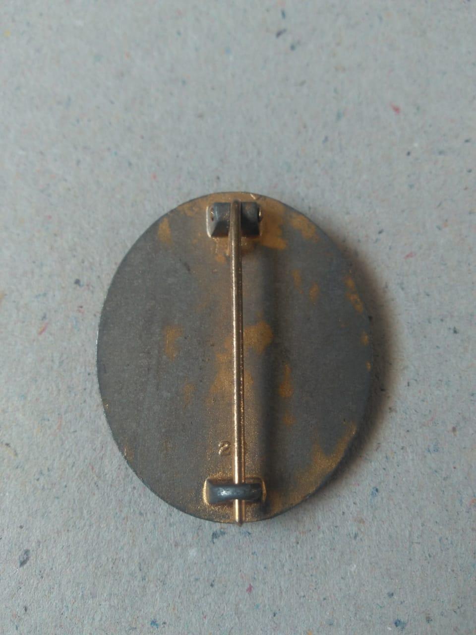 Insigne des blessés allemand 39-45 Badge212