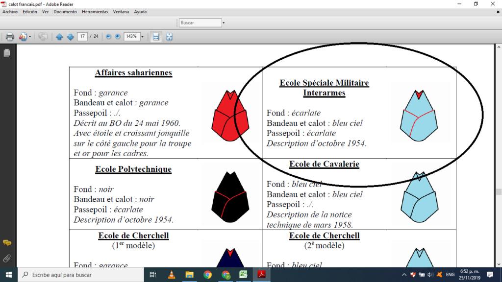 Identification d'un bonnet de Police- Identifié EMP Autun  Calot10