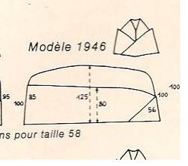 Bonnet de police modèle 1946 ? Modele10