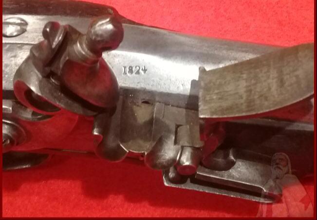 pistolet officier cavalerie approx. 1820? Photo414