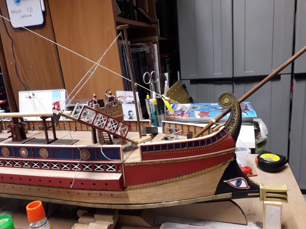 Costruiamo la nave romana..? cantiere di Jack Sparrow 53 20190226