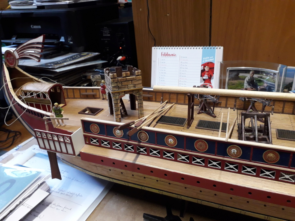 nave - Costruiamo la nave romana..? cantiere di Jack Sparrow 53 - Pagina 2 20190230