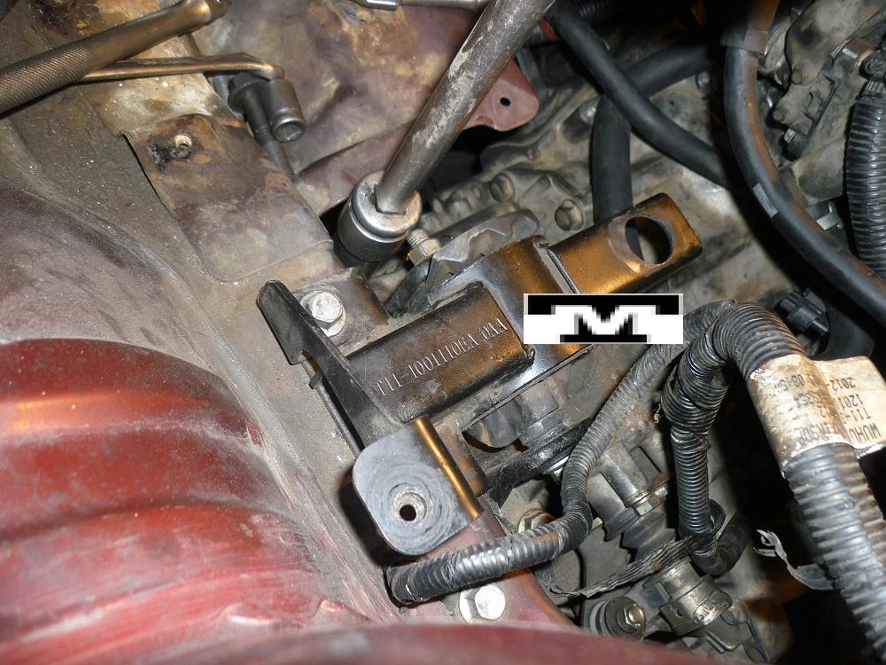 Base/Soporte de Motor para Chery Tiggo FL_TM Baseti11
