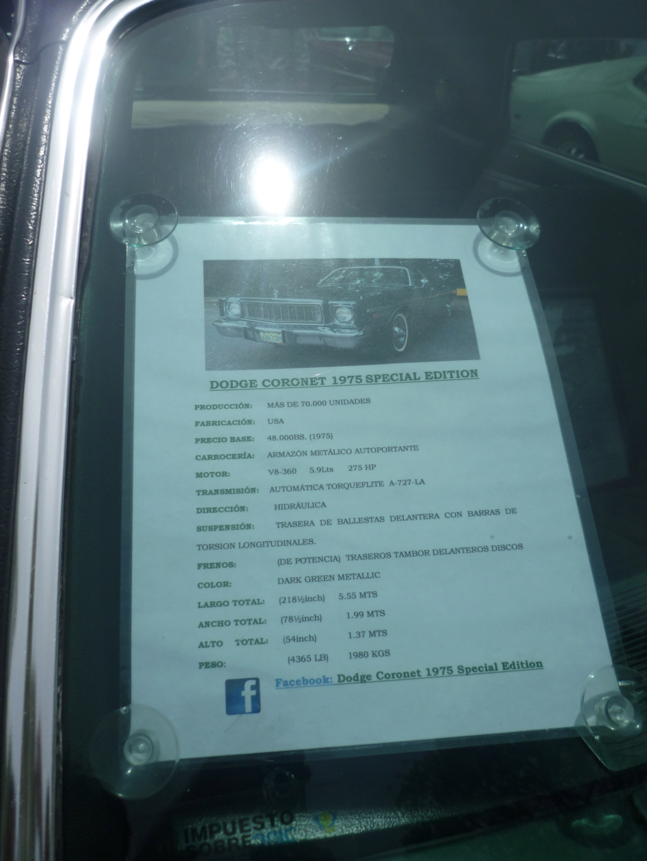 Dodge Coronet,casi dos toneladas de Calidad. Dodgec10