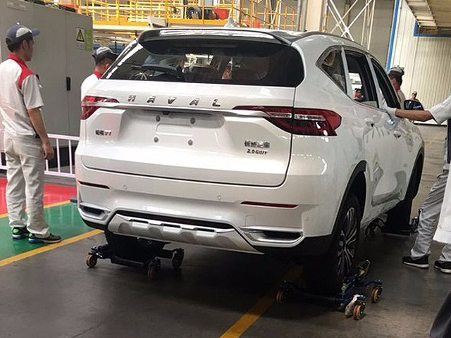 El líder en ventas de SUV pronto con su nuevo modelo: Haval F7  Havalf10