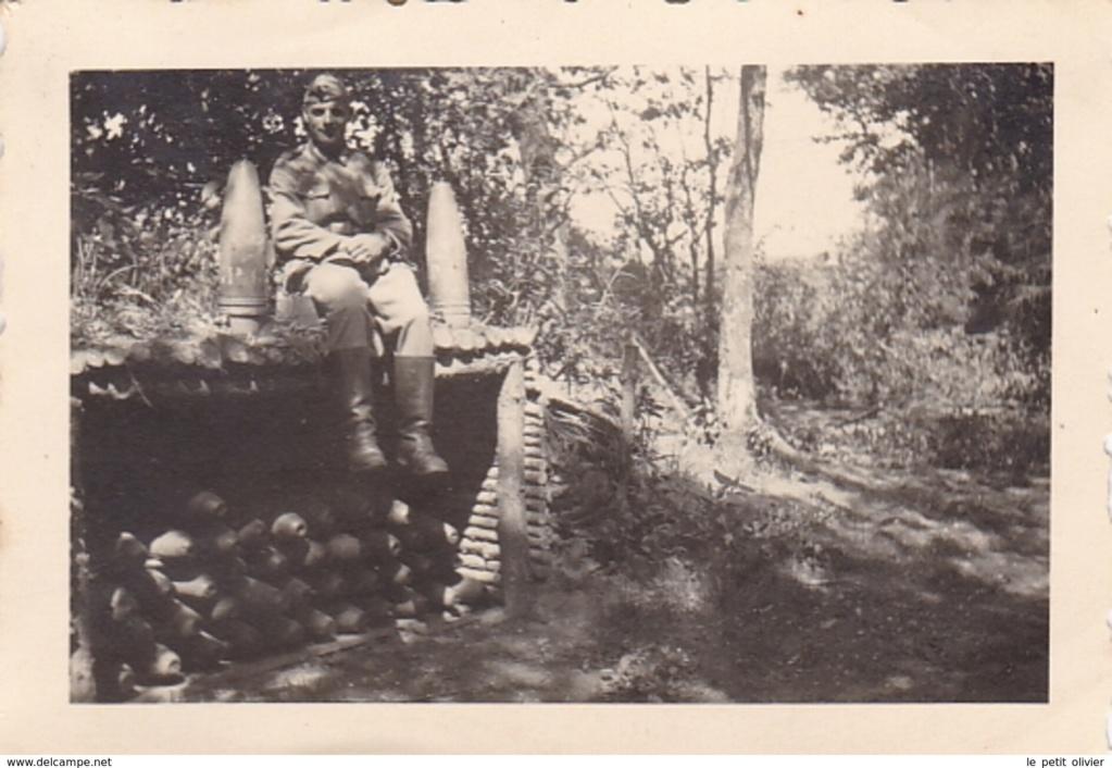 Photo soute à munition avec obus  270_0010