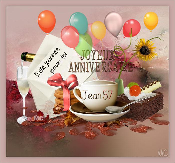 JOYEUX ANNIVERSAIRE JEAN57 Jean5711