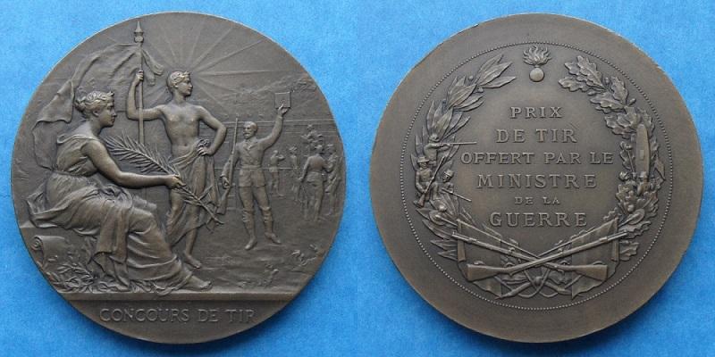 les médailles de tir , des ouvrages et manuels 20510