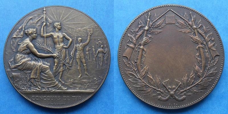 les médailles de tir , des ouvrages et manuels 20710