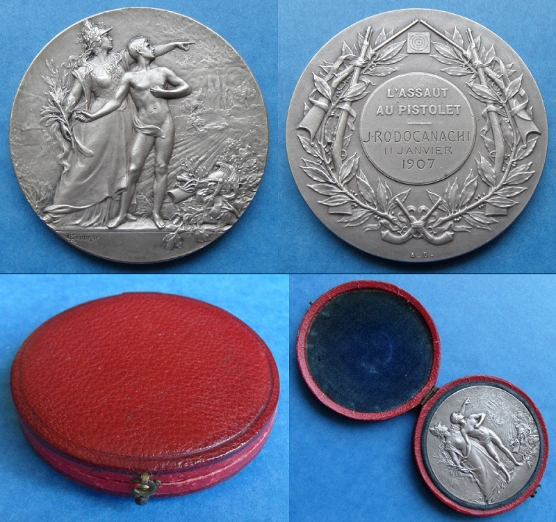 les médailles de tir , des ouvrages et manuels 21910
