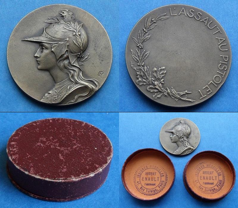 les médailles de tir , des ouvrages et manuels 22110