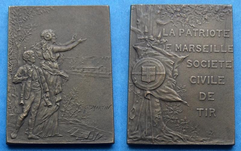 les médailles de tir , des ouvrages et manuels 22410