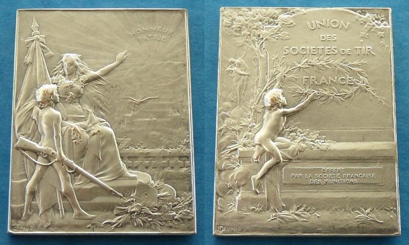 les médailles de tir , des ouvrages et manuels 22610