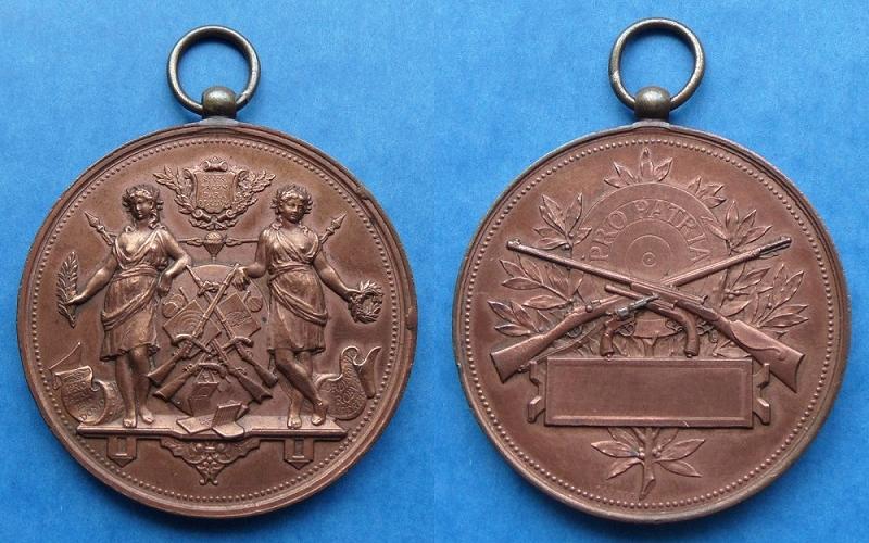 les médailles de tir , des ouvrages et manuels 23710