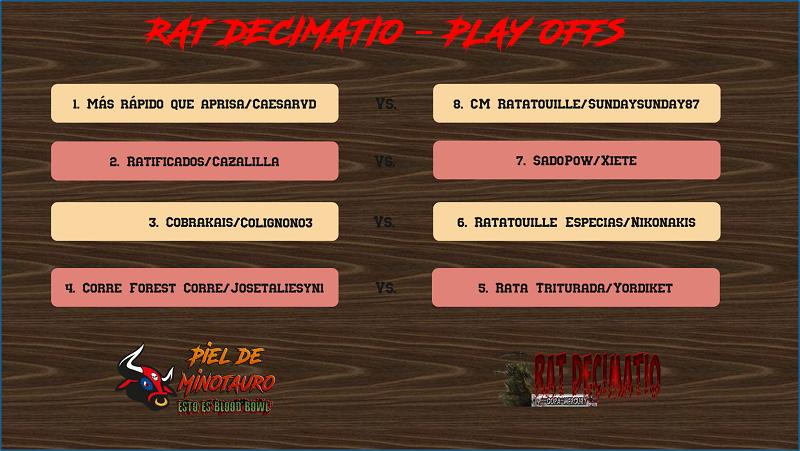 Rat Decimatio Guerras Mercury 2 - Cuartos de Final - hasta el domingo 20 de diciembre Cuarto15