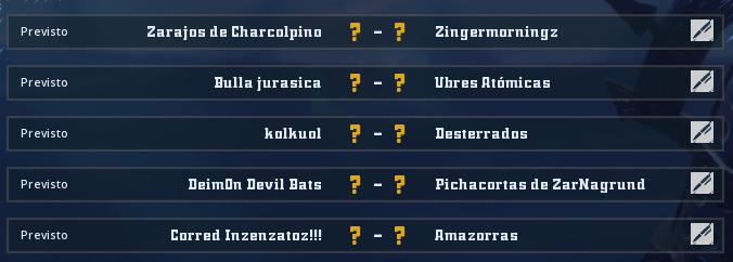 Campeonato Piel de Minotauro - Grupo 1 / Jornada 1 - hasta el domingo 17 de febrero Jorna107