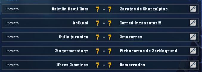 Campeonato Piel de Minotauro 8 - Grupo 1 / Jornada 3 - hasta el miércoles 6 de marzo Jorna126