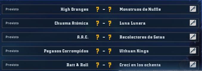 Liga Alianza Mixnotauro - División Cuerno de Plata / Jornada 1 - hasta el domingo 5 de mayo Jorna160