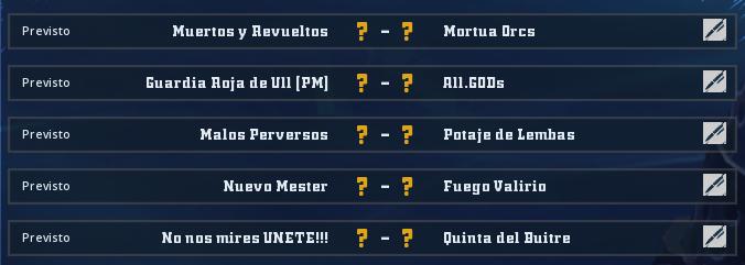 Liga Alianza Mixnotauro 2 - División Cuerno de Bronce / Jornada 1 - hasta el domingo 5 de mayo Jorna161