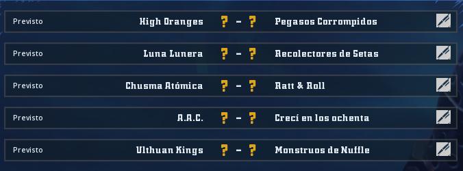 Liga Alianza Mixnotauro 2 - División Cuerno de Plata / Jornada 2 - hasta el domingo 19 de mayo Jorna162