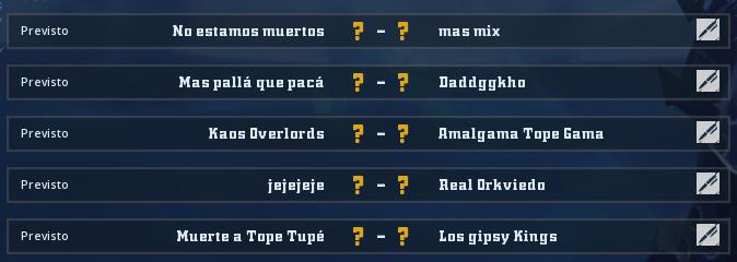 Liga Alianza Mixnotauro 2 - División Cuerno de Oro / Jornada 2 - hasta el domingo 19 de mayo Jorna168