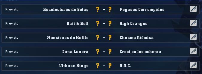 Liga Alianza Mixnotauro 2 - División Cuerno de Plata /Jornada 3 - hasta el domingo 2 de junio Jorna173