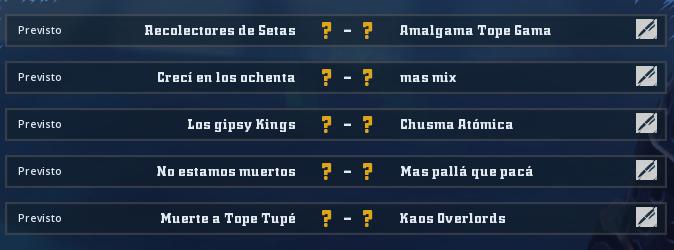Liga Alianza Mixnotauro 3 - División Cuerno de Oro/ Jornada 1 - hasta el domingo 29 de septiembre Jorna209