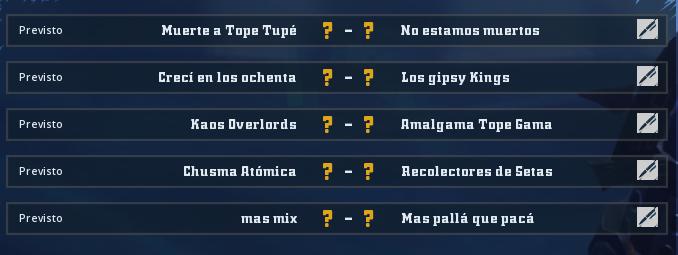 Liga Alianza Mixnotauro 3 - División Cuerno de Oro / Jornada 2 - hasta el domingo 13 de octubre Jorna243