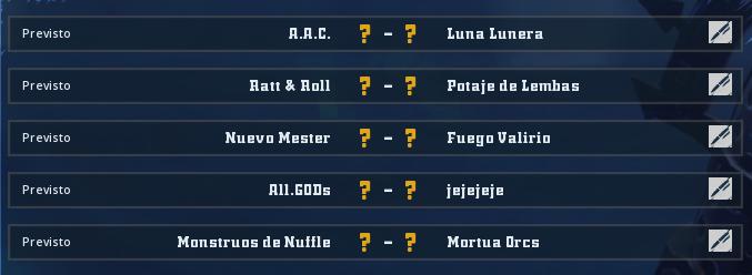 Liga Alianza Mixnotauro 3 - División Cuerno de Plata / Jornada 2 - hasta el domingo 13 de octubre Jorna244