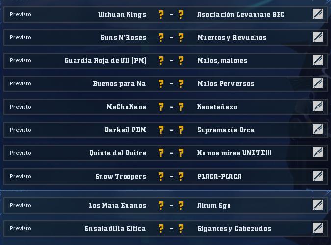 Liga Alianza Mixnotauro 3 - División Cuerno de Bronce / Jornada 2 - hasta el domingo 13 de octubre Jorna245