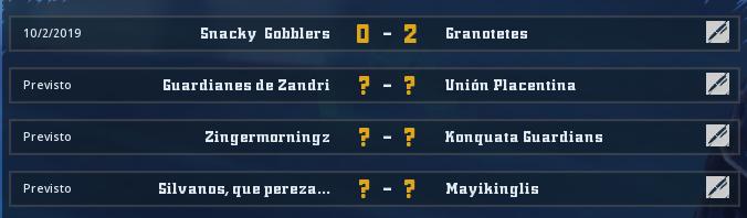 Campeonato Piel de Minotauro 9 - Grupo 1 / Jornada 1 - hasta el domingo 13 de octubre Jorna249