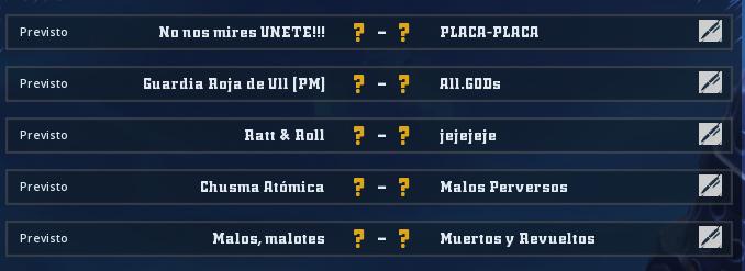 Liga Alianza Mixnotauro 4 - División Cuerno de Plata / Jornada 1 - hasta el domingo 29 de diciembre Jorna293