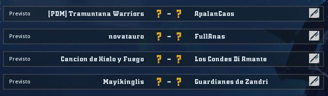 Campeonato Piel de Minotauro 10 - Grupo 5 / Jornada 1 - hasta el domingo 23 de febrero Jorna331