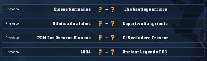 Campeonato Piel de Minotauro 10 - Grupo 1 / Jornada 3 - hasta el domingo 8 de marzo Jorna337