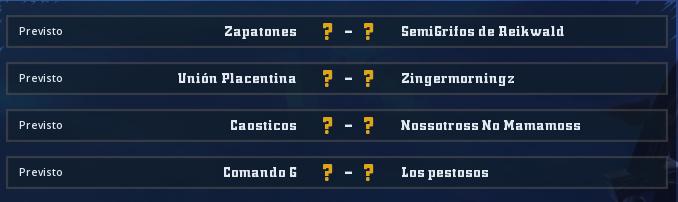 Campeonato Piel de Minotauro 10 - Grupo 2 / Jornada 3 - hasta el domingo 8 de marzo Jorna338