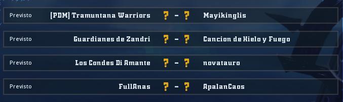 Campeonato Piel de Minotauro 10 - Grupo 5 / Jornada 3 - hasta el domingo 8 de marzo Jorna340