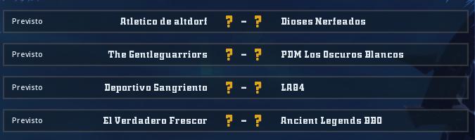 Campeonato Piel de Minotauro 10 - Grupo 1 / Jornada 5 - hasta el domingo 22 de marzo Jorna352