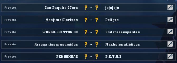 Liga Alianza Mixnotauro 5 - División Cuerno de Bronce / Jornada 2 - hasta el domingo 12 de abril Jorna353